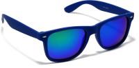 Audbury Blue Wayfarer Sunglasses