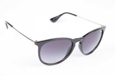 Image Image Round Sunglasses (Black)