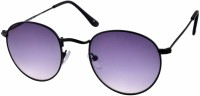 Joe Black Round Sunglasses Blue