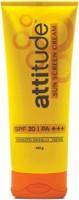 Amway Attitude Sunscreen Cream - SPF 30 PA+++ (100 G)