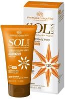 Bottega Di Lungavita Sol Leon Suntan Cream Face - SPF 30 PA+ (50 Ml)