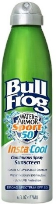 Bull Frog Water Armor Sport Quik Spray - SPF 50 138 ml