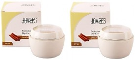 Jovees Sandalwood Protection Day Cream (Pack Of 2) - SPF 20 - 100 G