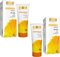Richfeel Sunshield With (SPF 30) 100g (Pack Of 2) - SPF 30 PA++ (200 G)