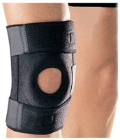 Mor Sporting Tenglong Knee, Calf & Thigh Support (Free Size, Black)