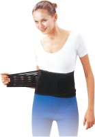 I-M Waist Lumbar Support (Free Size, Black)