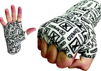 Xpeed Hand Wraps Printed Hand Support (Free Size, Red, Blue)