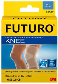 Futuro Comfort Lift (Medium) Knee Support (M, Beige)