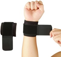 Nivia Ws-583 Pack Of 2 Wrist Support (Free Size, Black)