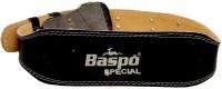 Baspo Weight Lifting Belt Back & Abdomen Support (Free Size, Black)