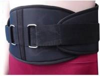 Veloz Gym Belt Back Support (Free Size, Black)