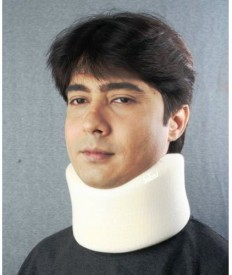 Sabar 1005_M Neck Support (M, White)