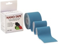 Nano-Tape Cotton Kinesiology Knee, Calf & Thigh Support (Free Size, Blue)