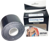 Prop It Up Kinesiology Tape Knee, Calf & Thigh Support (Free Size, Black)