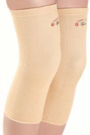 Tynor Knee Cap Pair Knee, Calf & Thigh Support (L, Grey)