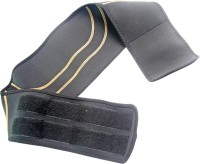 SJ 6.5inch Trimmer Tummy Slim Belt Weight Loss Waist Support (Free Size, Black)