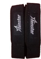 Tenstar Weight Lifting Straps Wrist Support (Free Size, Black)
