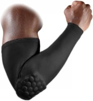 Jern Arm Sleeve Elbow Support (M, Black)