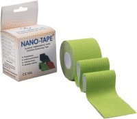 Nano-Tape Synthetic Kinesiology Tape Knee, Calf & Thigh Support (Free Size, Green)