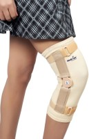 Wonder Care Patella Cap Sleeve With Hinge-Medium Knee Support (M, Beige)
