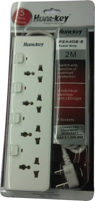 Huntkey PZA402-2 4 Strip Surge Protector