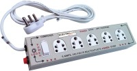Electricless Power Extension 5 Wall Mount Surge Protector (Beige)