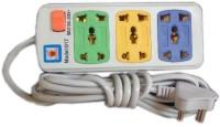 Dhhan 3 Socket Multicolor 3 Strip Surge Protector (Multicolor)