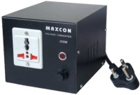 MX Voltage Converter - 1000 Watts - Converts 220V to 110V 1 Single Adapter Surge Protector