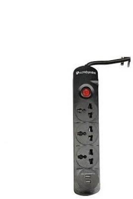 Ultra Prolink UM0012U 3 Strip (2 USB) Spike Surge Protector