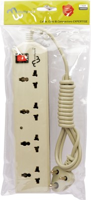 Multybyte-1.8m-4-Socket-Power-Extension-4-Strip-Surge-Protector