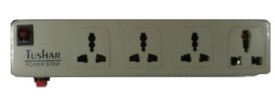Tushar 4 Strip Surge Protector (1 Switch)