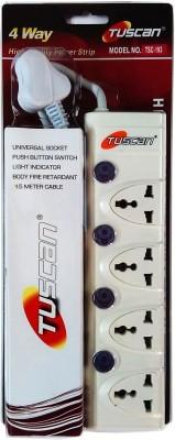 Tuscan TSC-193 4 Strip Surge Protector (1.5 Mtr)