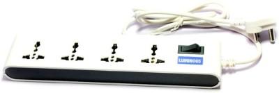 Luminous 4 Socket Spike Surge Protector