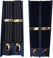 Winsome Deal Y- Back Suspenders For Men Multicolor, Blue