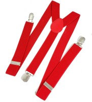 Ammvi Creations Y- Back Suspenders For Men Red