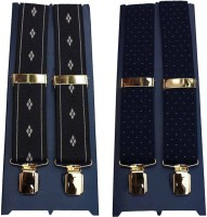 Winsome Deal Y- Back Suspenders For Men Multicolor, Blue - SUSE8F22GYSKWGDY