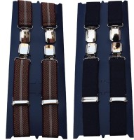 Winsome Deal X- Back Suspenders For Men Multicolor, Blue - SUSE8F22VCHHTJPQ