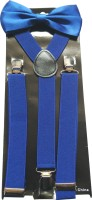 Swarn Y- Back Suspenders For Boys, Men, Women Black
