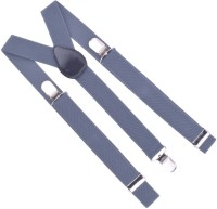 Modish Era Collection Y- Back Suspenders For Men Grey