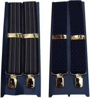 Winsome Deal Y- Back Suspenders For Men Multicolor, Blue - SUSE8F22FSKDSQZJ