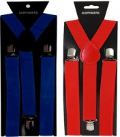 Vecom Y- Back Suspenders For Men (Red, Blue)