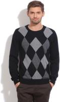 Puma Geometric Print Round Neck Casual Men's Sweater
