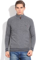 Pepe Solid Turtle Neck Casual Men's Sweater