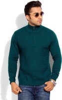 Wills Lifestyle Solid Turtle Neck Casual Men's Sweater - SWTEYE2FZHQMHTMF