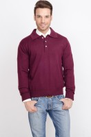 ALX New York Solid V-neck Casual Men's Sweater - SWTDSW3HPGZNUPWA