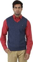Arrow Solid V-neck Formal Men's Sweater - SWTEFGDUEYVUEGED
