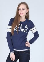 UCLA Printed Round Neck Casual Women's Sweater