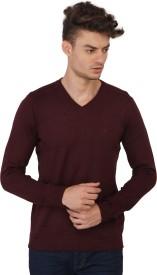 Calvin Klein Solid V-neck Men's Sweater