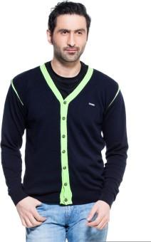 Zovi Solid Round Neck Casual Men's Sweater