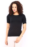 Dressberry Solid Round Neck Casual Women's Sweater - SWTEYRG4ZZVEMDTZ